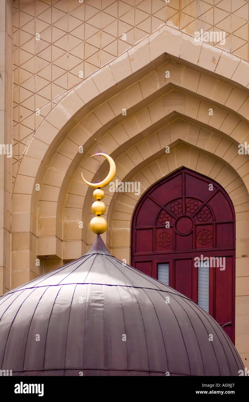 Edinburgh Central Mosque, Scotland Stock Photo