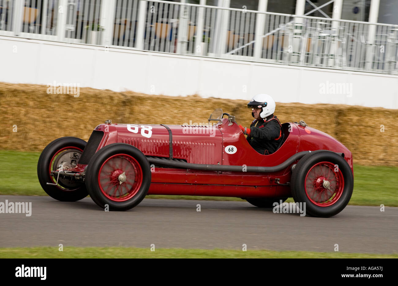 1933 Maserati 8CM at the Goodwood Festival of Speed, Sussex, UK. - Stock Image
