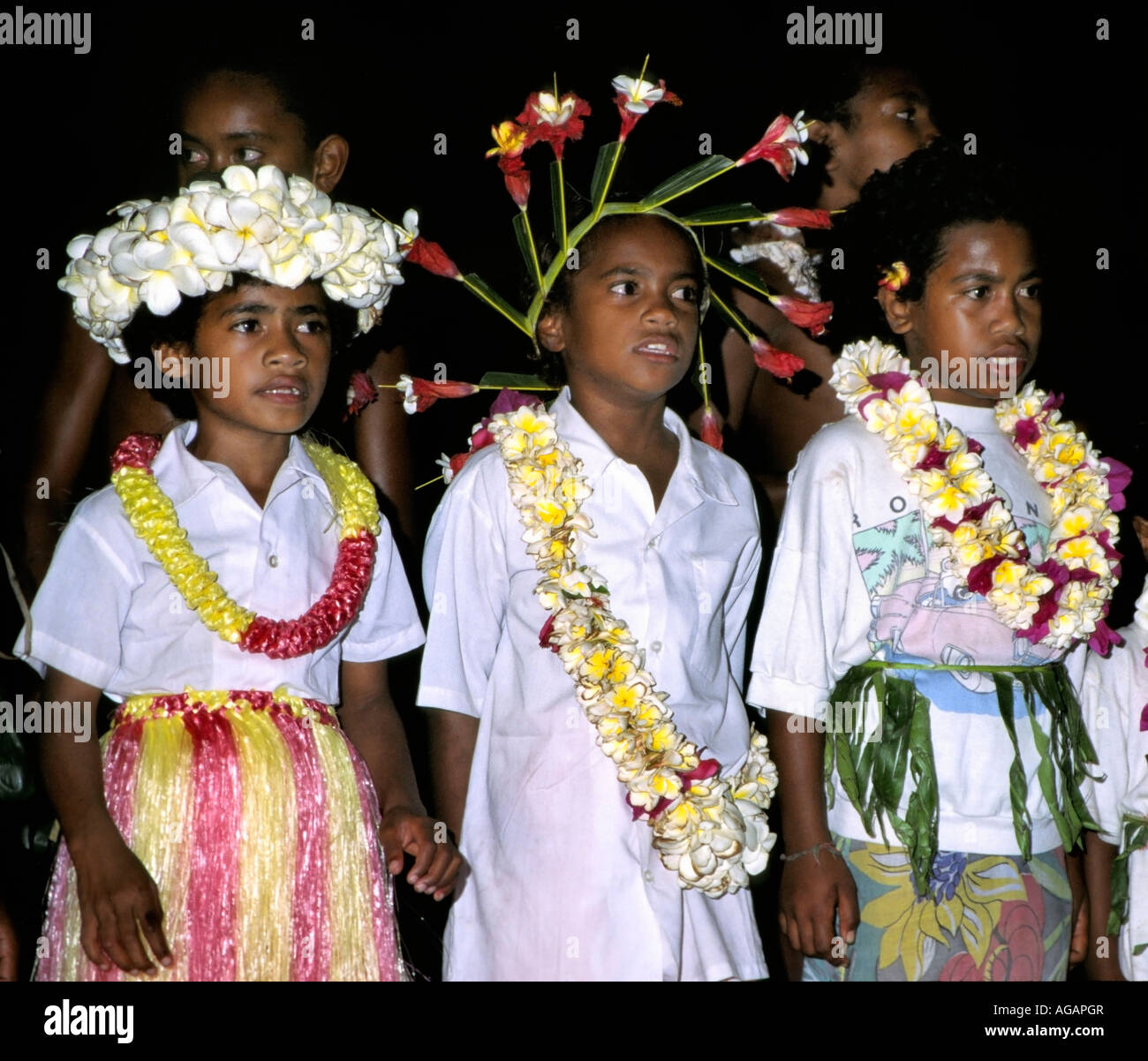 south pacific Fiji Vitu Levu Nananu I Ra school boys in