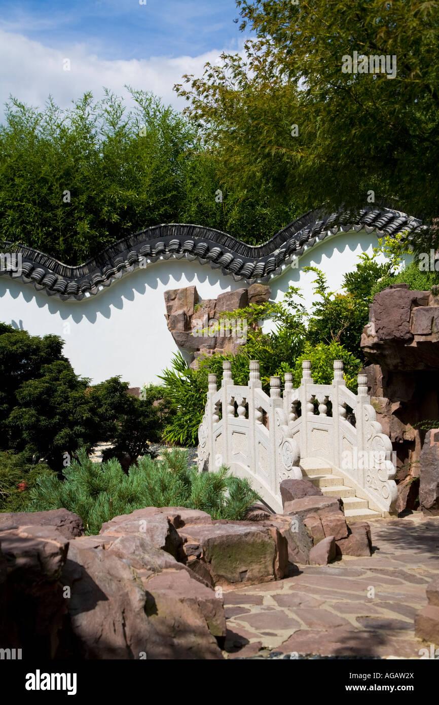 Chinese Scholar Garden - Stock Image