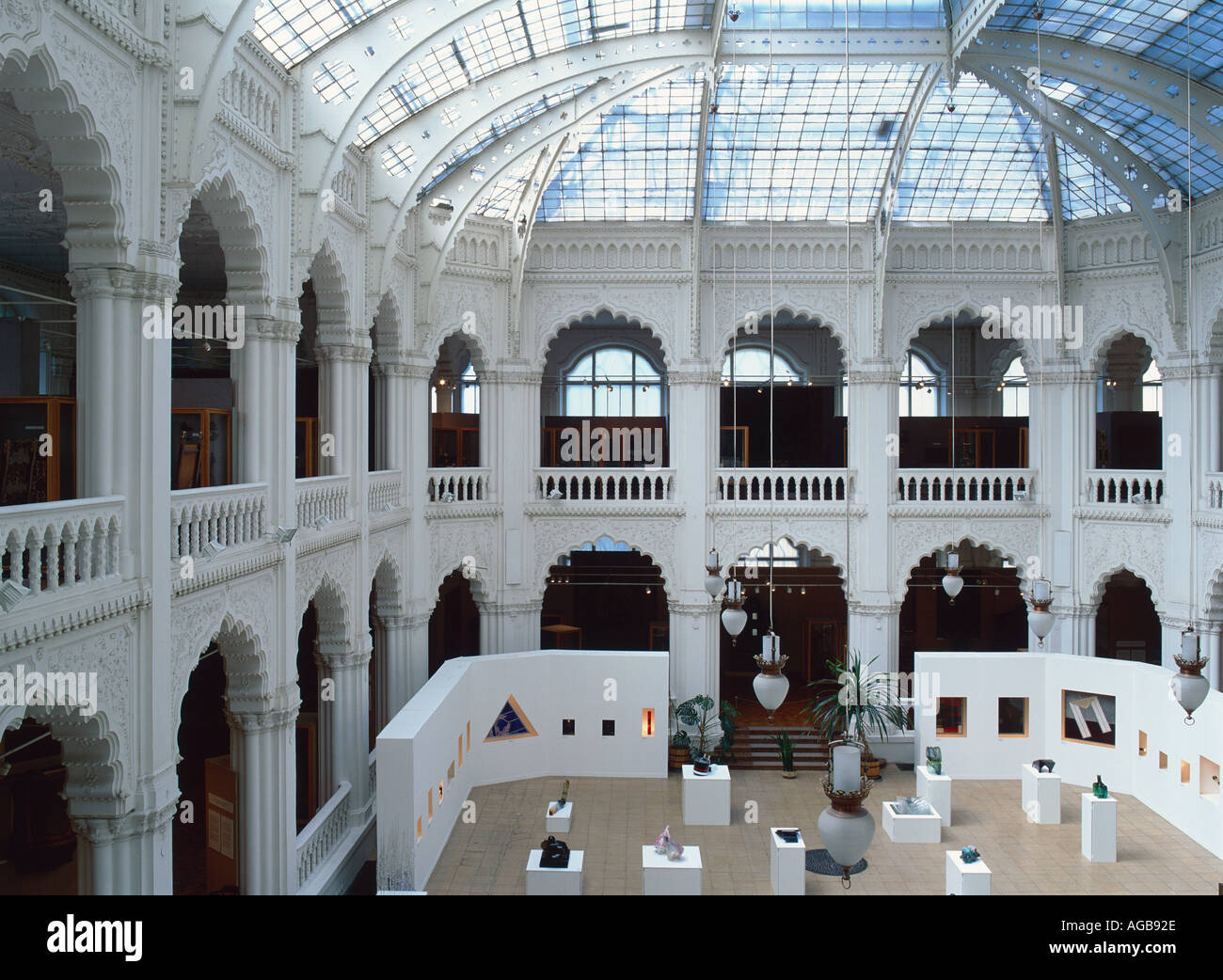 The Applied Arts Museum Built In The 1890s In Which Elements Of Stock Photo Alamy