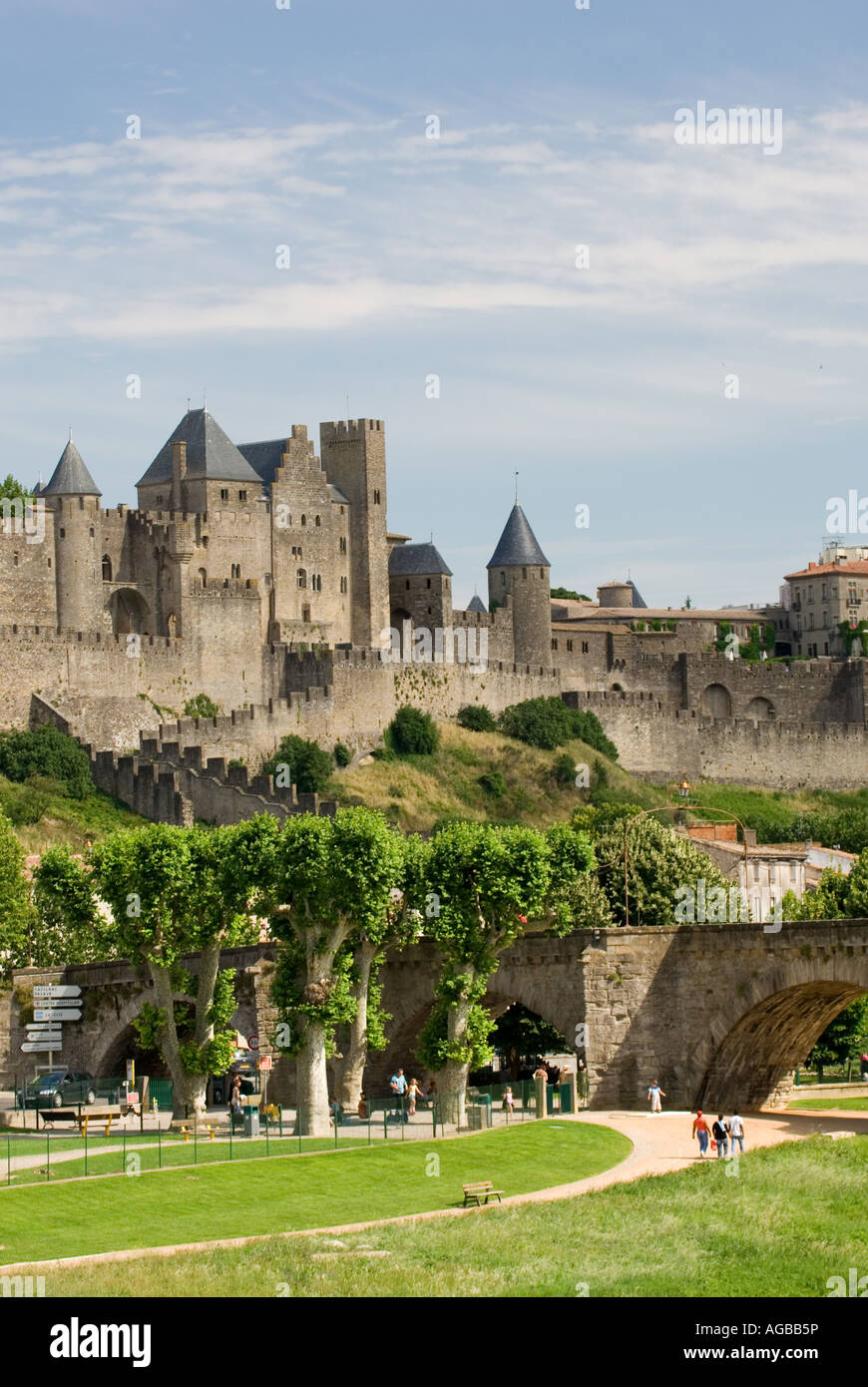 carcassonne region languedoc roussillon