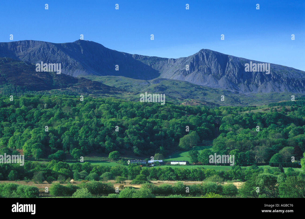 Cadair Idris Mountain Snowdonia Wales UK 46995DN Stock Photo