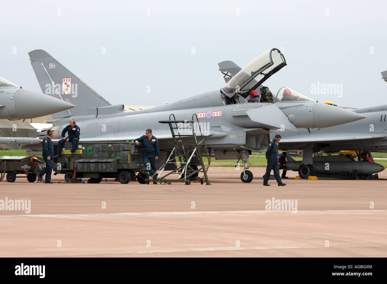 Royal Air Force Eurofighter Typhoon T1 - Stock Image