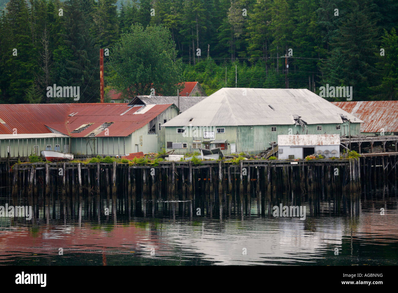 Kake Alaska Stock Photo