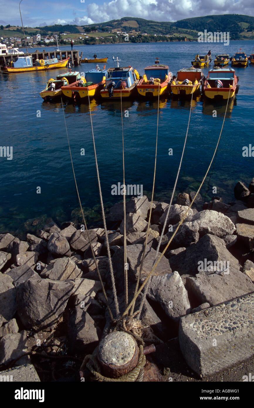 Ancud Chole Island Patagonia Chile - Stock Image