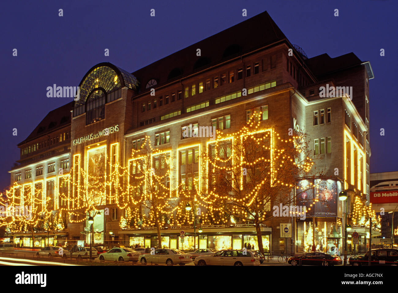 berlin kaufhaus des westens kadewe christmas time stock photo 14164789 alamy. Black Bedroom Furniture Sets. Home Design Ideas