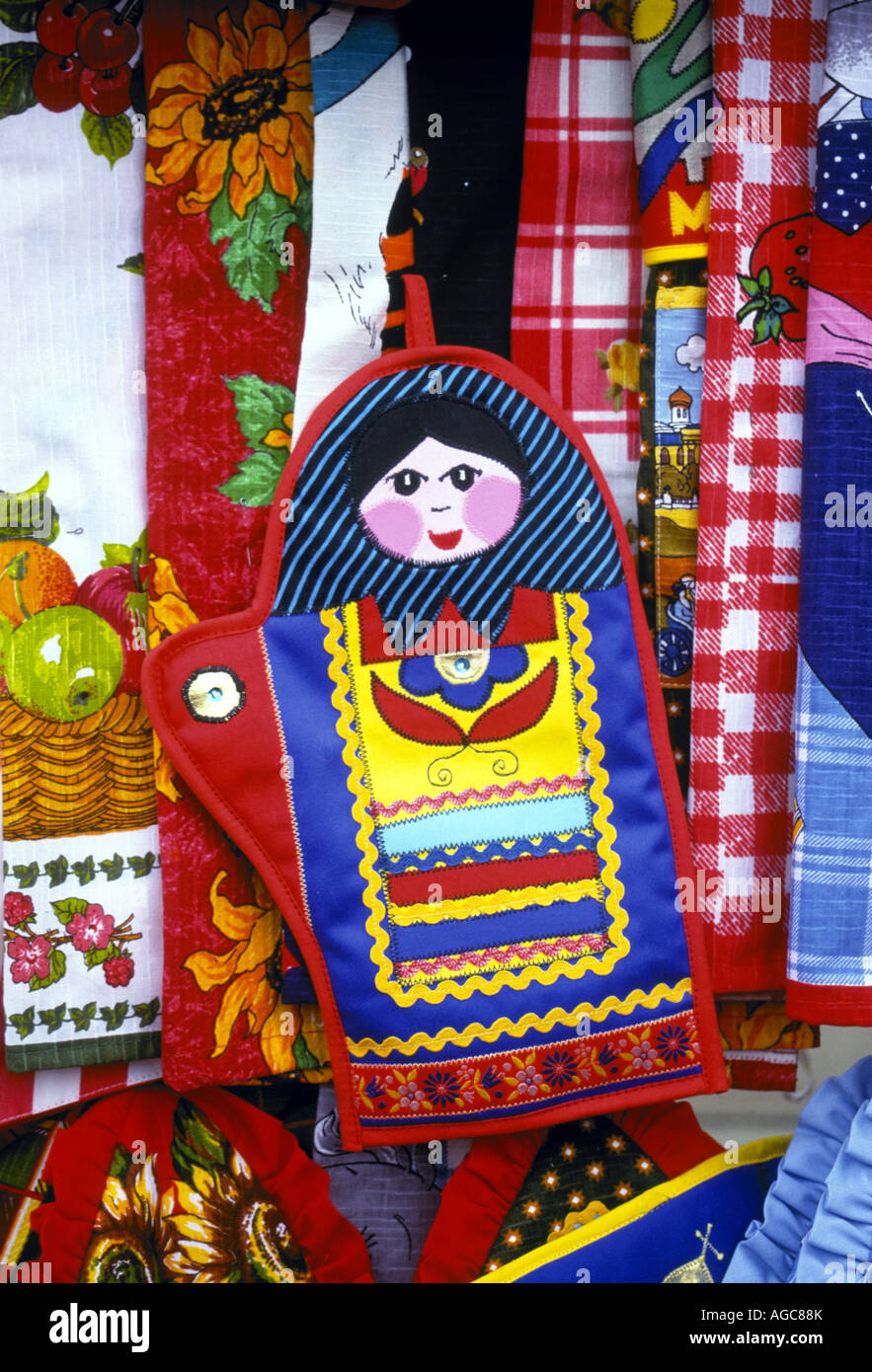 Russian Handicrafts For Sale At A Shop In The Gum Department Square