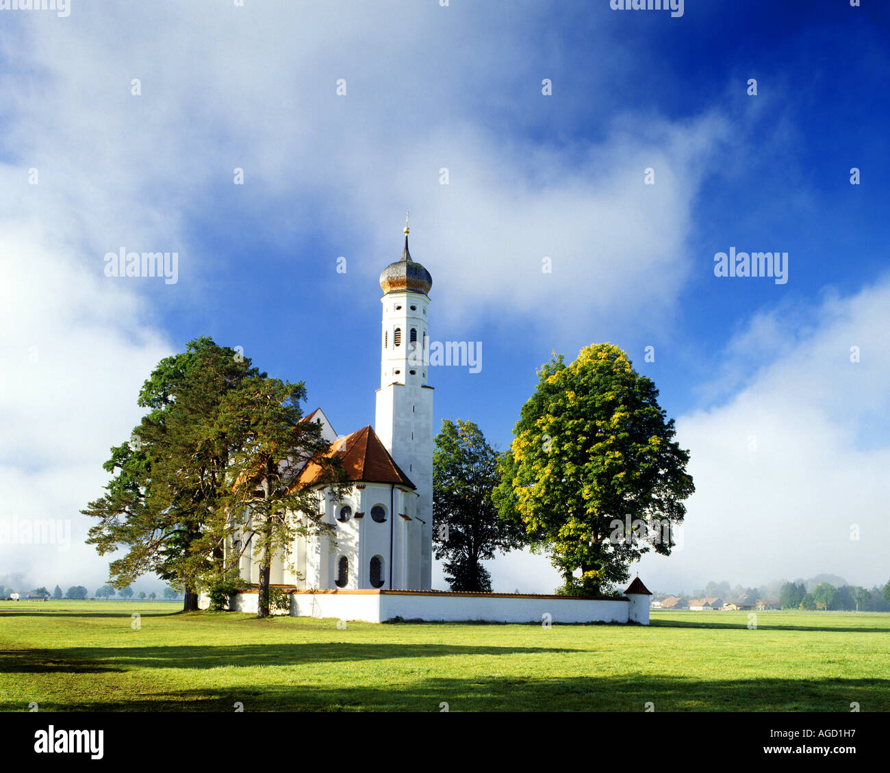 DE - BAVARIA:  St.Coloman near Schwangau in the Allgäu - Stock Image