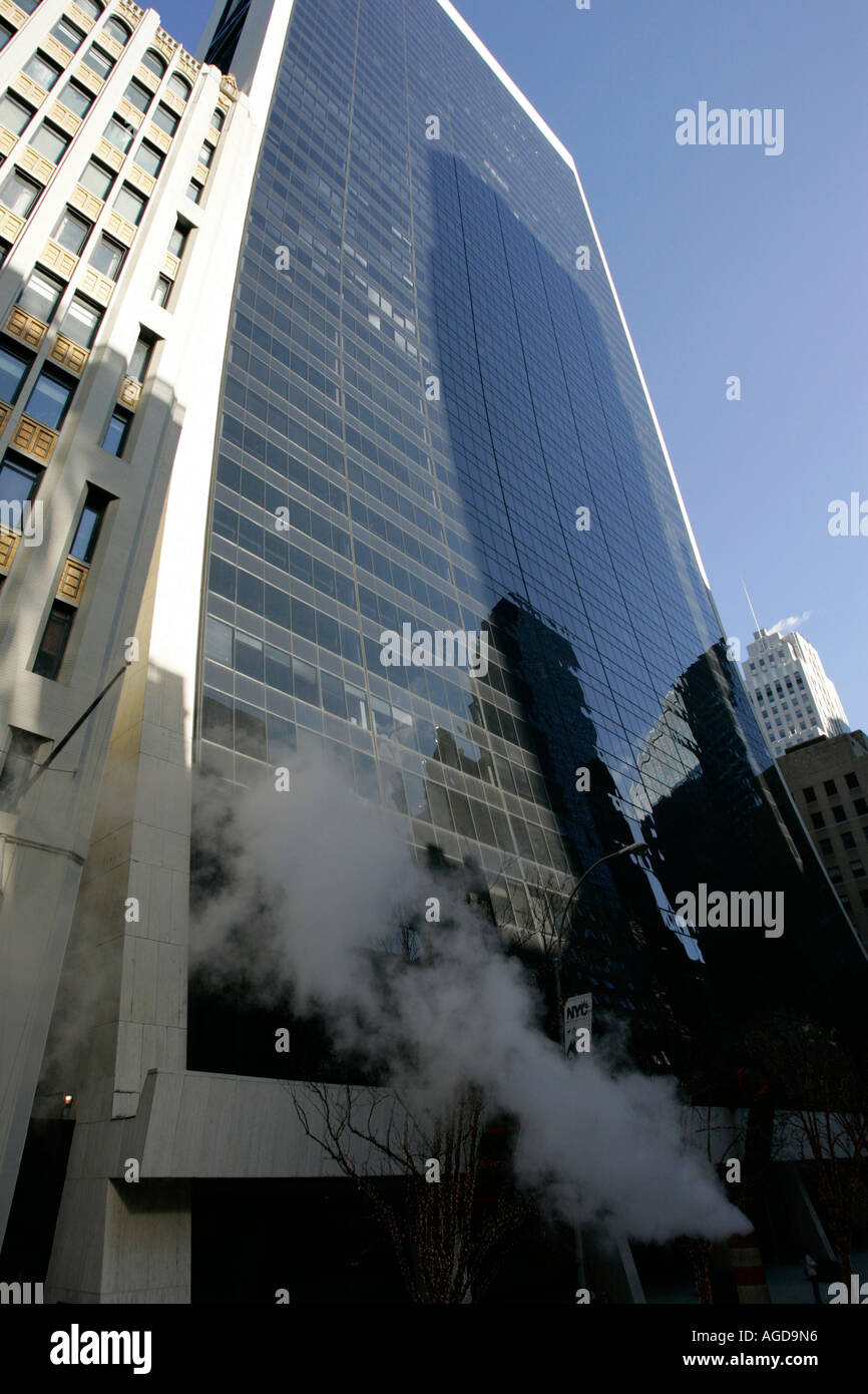 9 West 57th Street midtown new york city new york USA - Stock Image