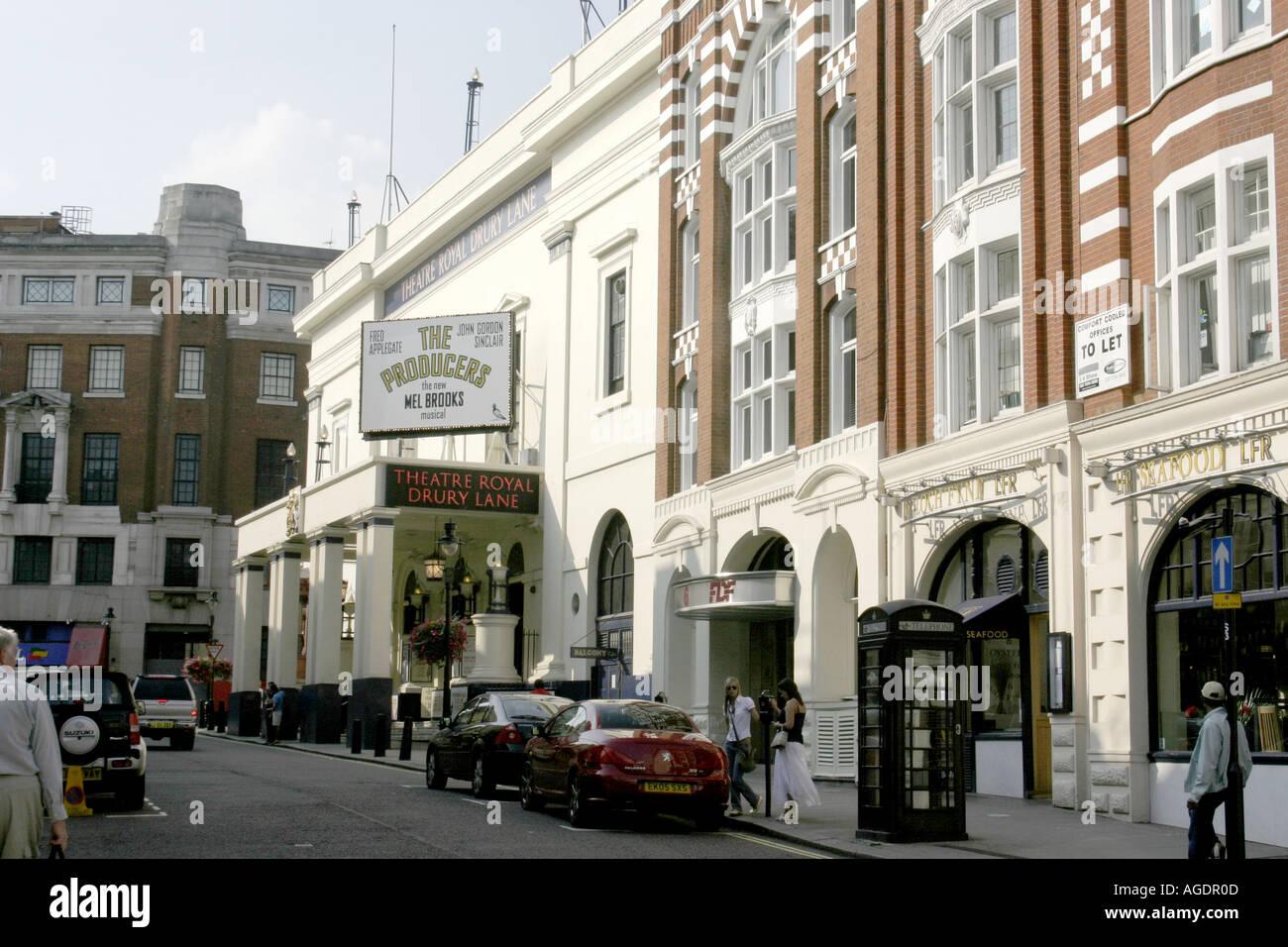 Theatre Royal.Drury Lane.London.UK.Europe.2005 - Stock Image