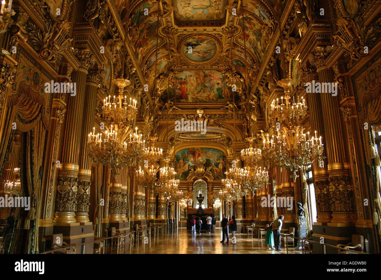 Opera Garnier Paris - Stock Image