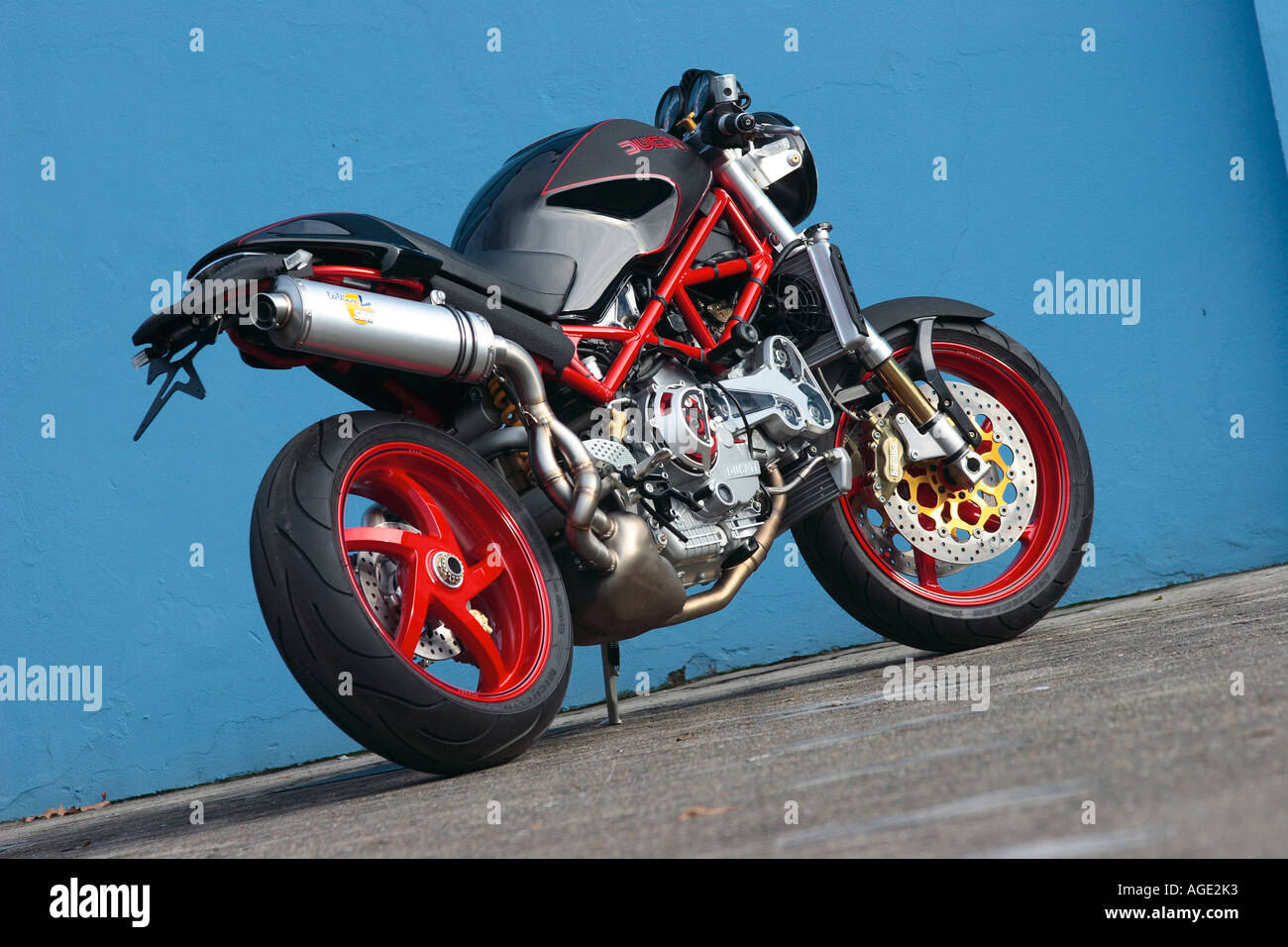 Ducati Monster Special - Stock Image