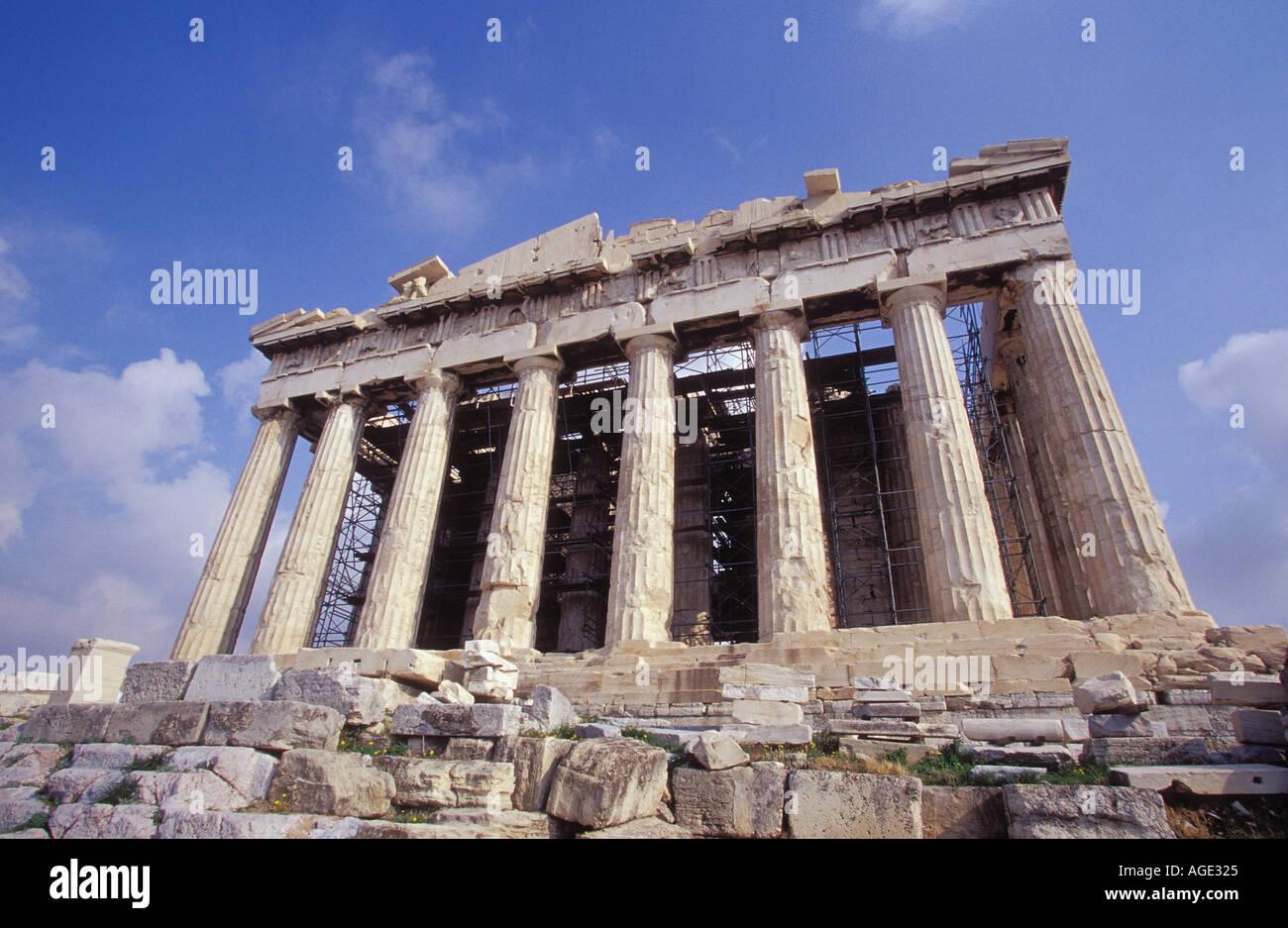 Greece Athens The Parthenon the main temple