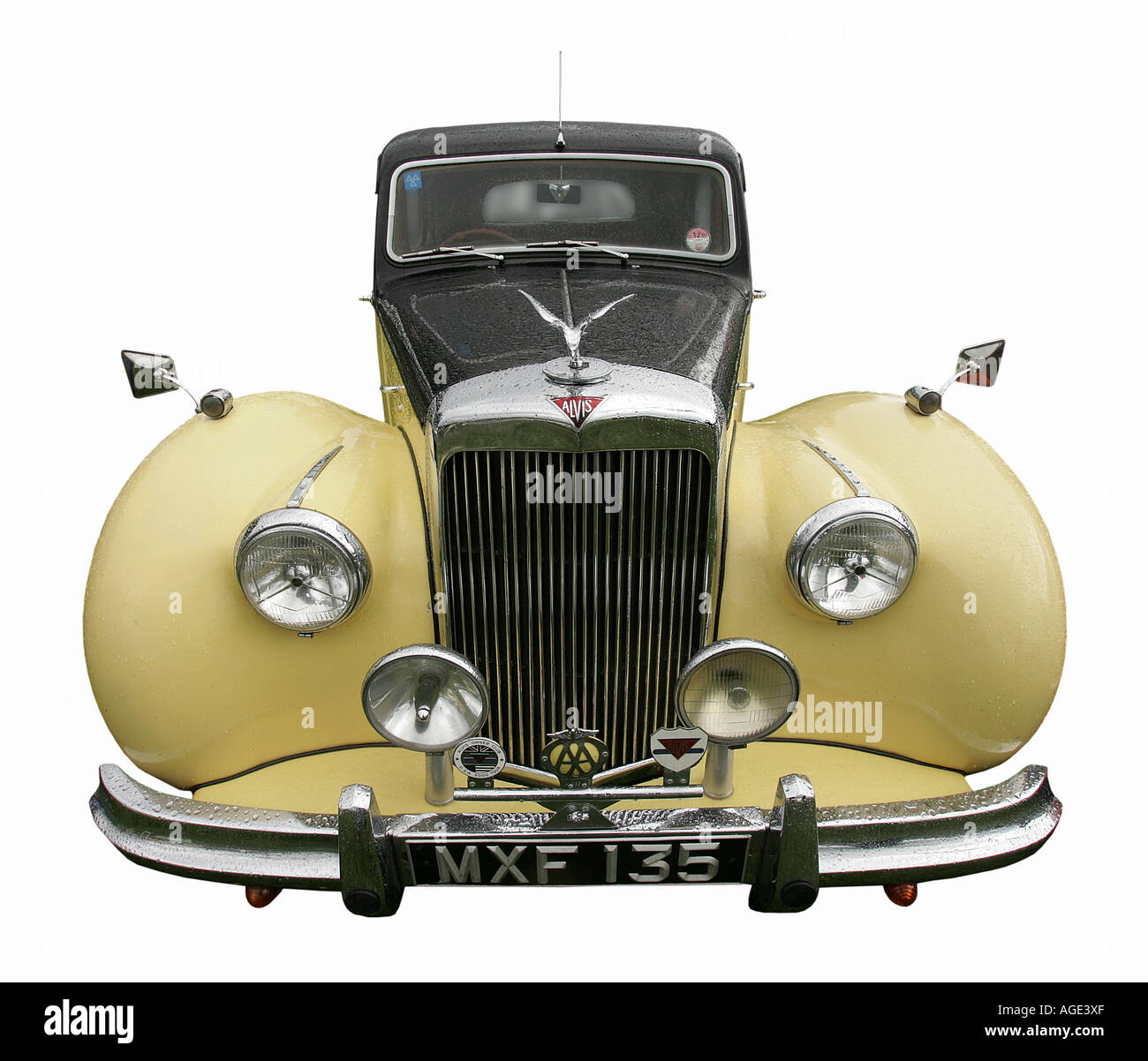 Alvis old car classic history vehicle vintage antipodes symbol Stock ...