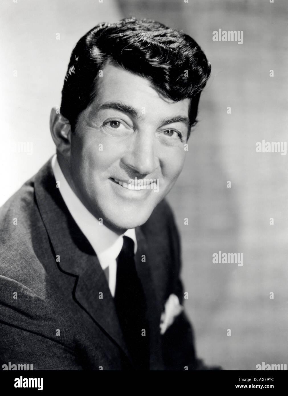 DEAN MARTIN US singer actor - Stock Image
