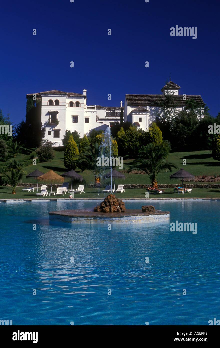 freshwater swimming pool, outdoor swimming pool, La Bobadilla Hotel ...
