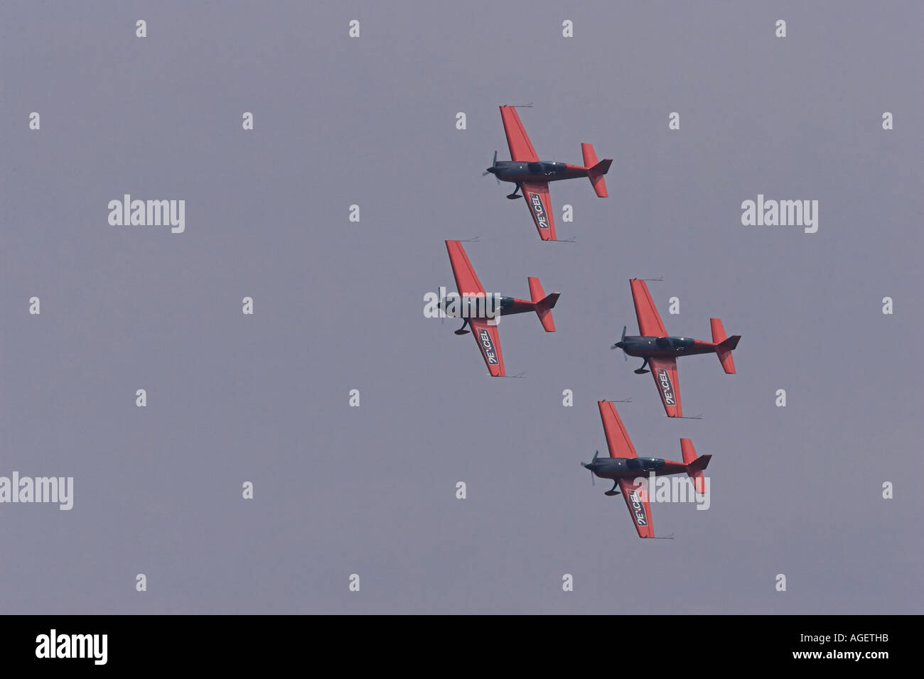 New display team excel blades - Stock Image