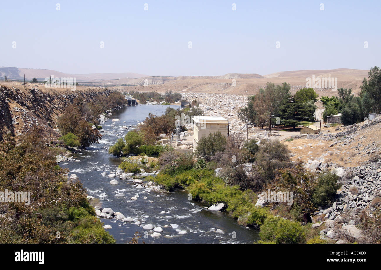 The Kern River Canyon, hydro-electric. - Stock Image