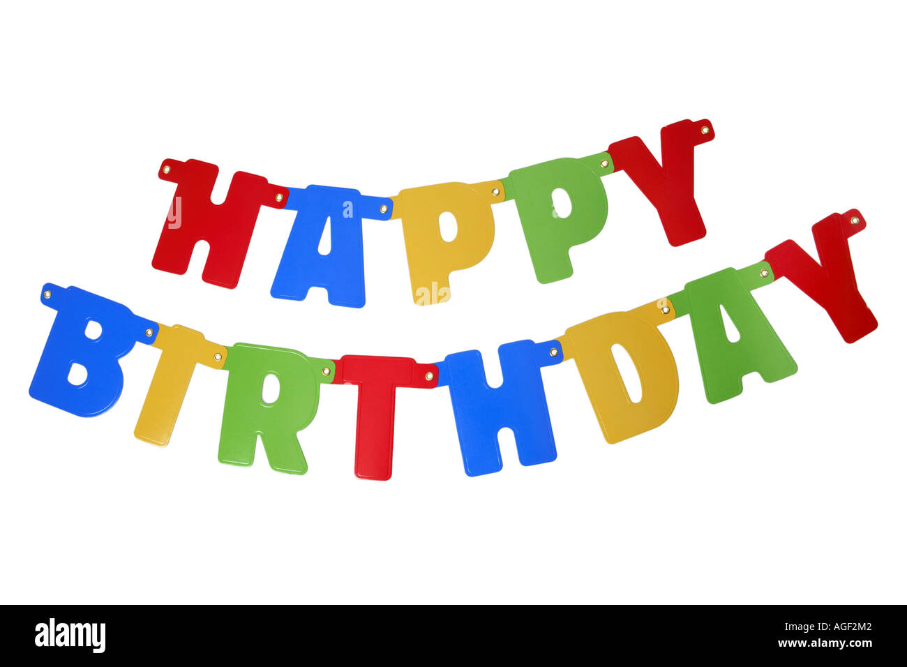 Happy Birthday Cut Out Stock Images Pictures Alamy