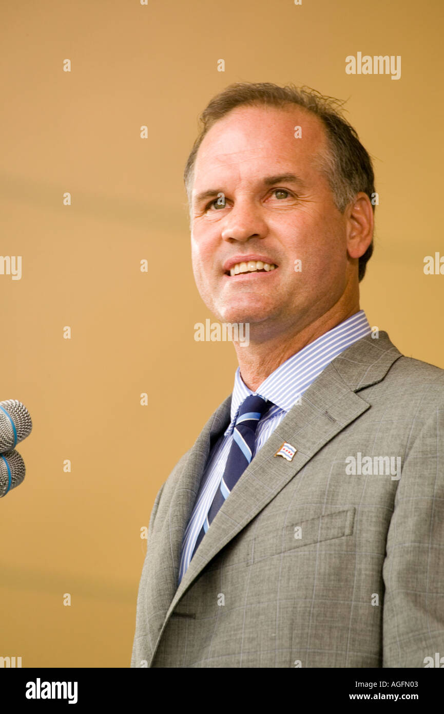 Ryne Sandberg inducted into Baseball Hall of Fame Cooperstown New York 2005 - Stock Image