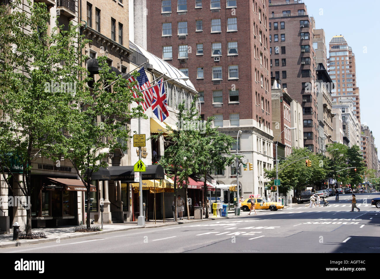 Why Does Madisons East Side Have All >> Madison Avenue Upper East Side Manhattan New York City Usa Stock