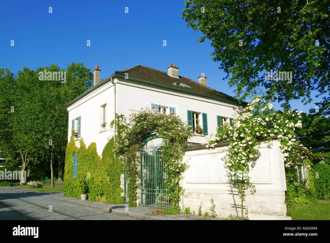 Garden of Bercy - Paris - France Stock Photo