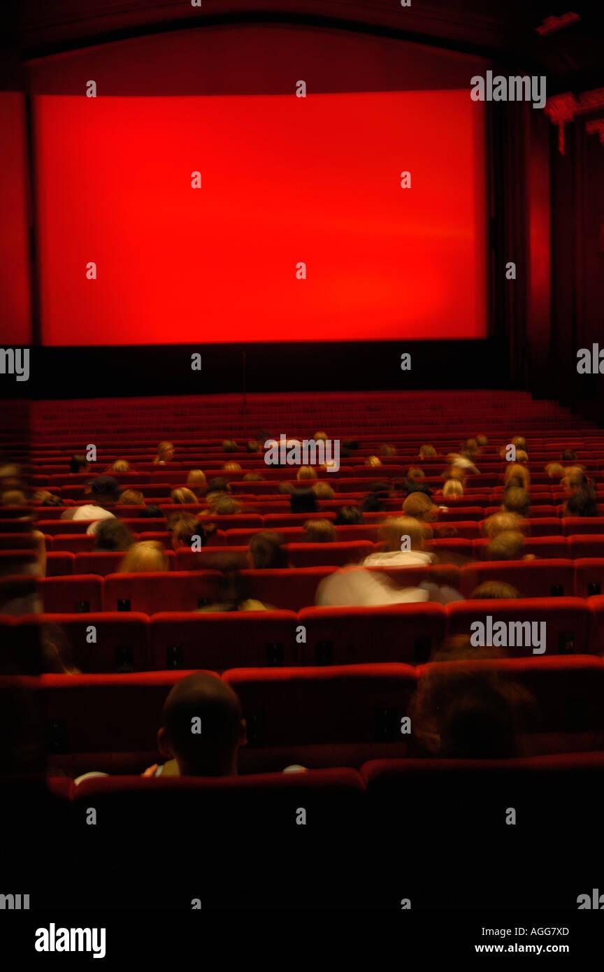 classic movie theatre, Stockholm, Sweden - Stock Image