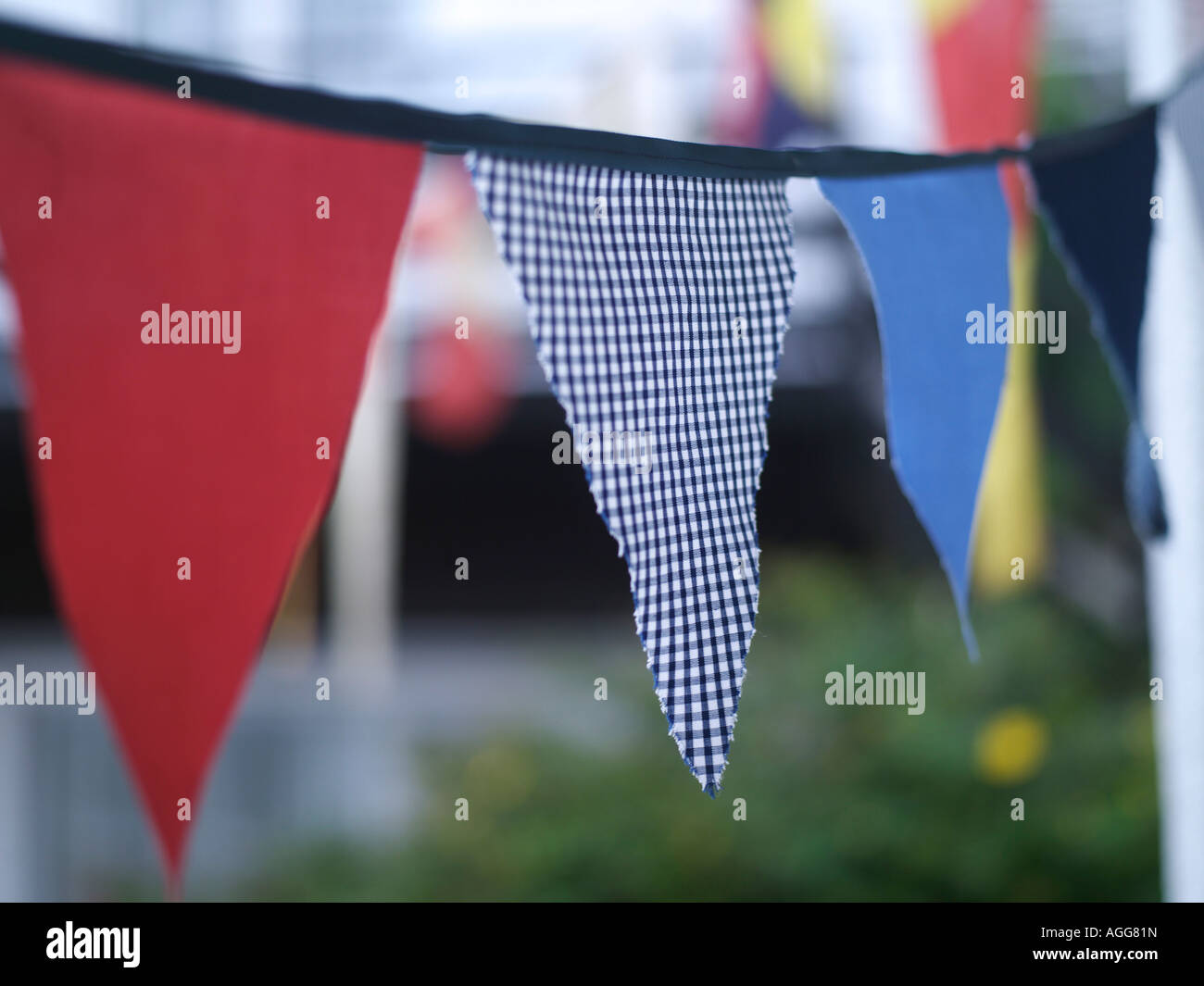 Bunting Flags - Stock Image