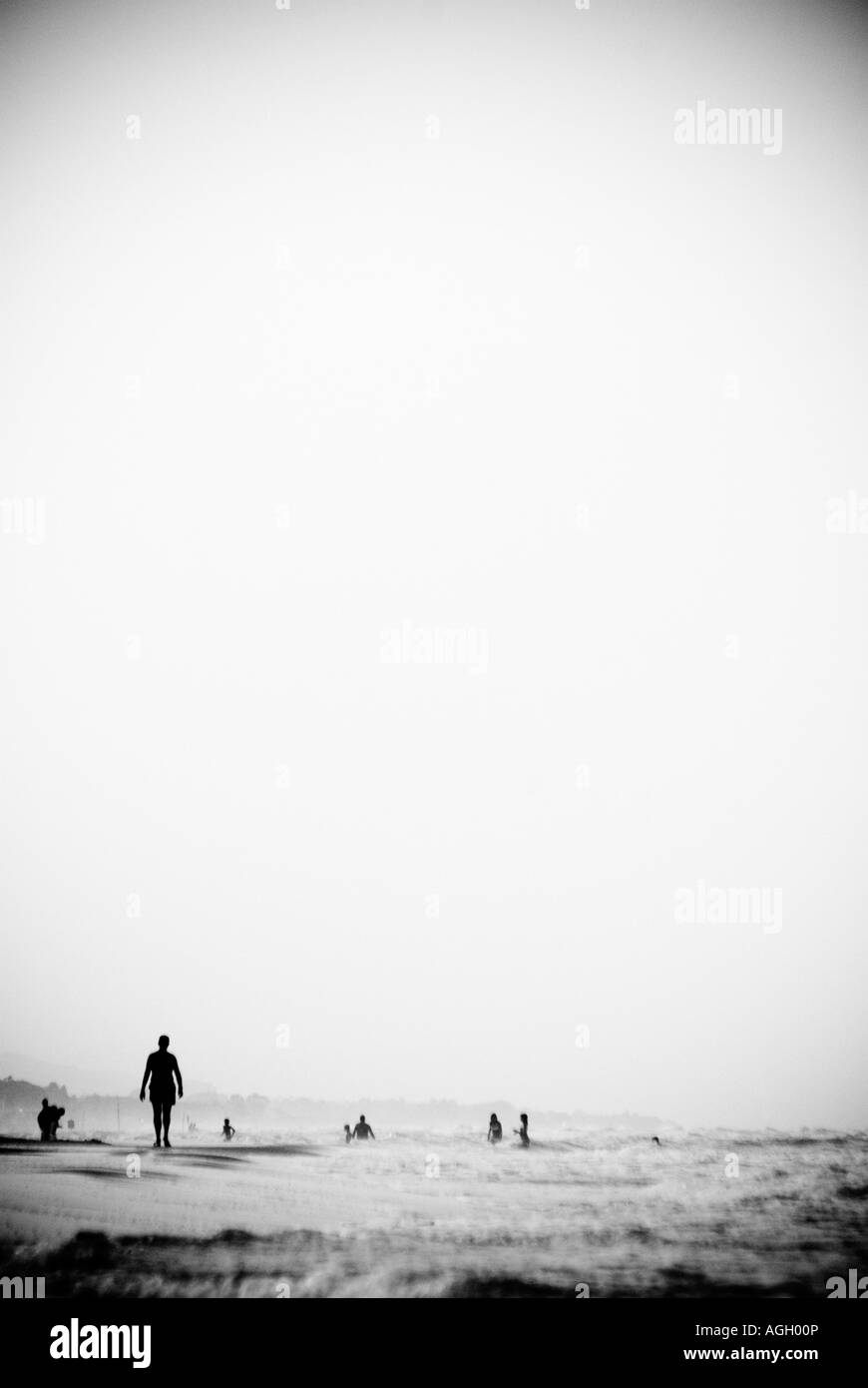 Seaside. People - Stock Image