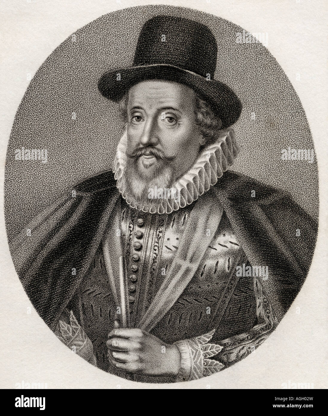 Thomas Howard, 1st Earl of Suffolk, Lord Howard of Walden, 1561 -1626. English Admiral and Knight of the Garter. Stock Photo