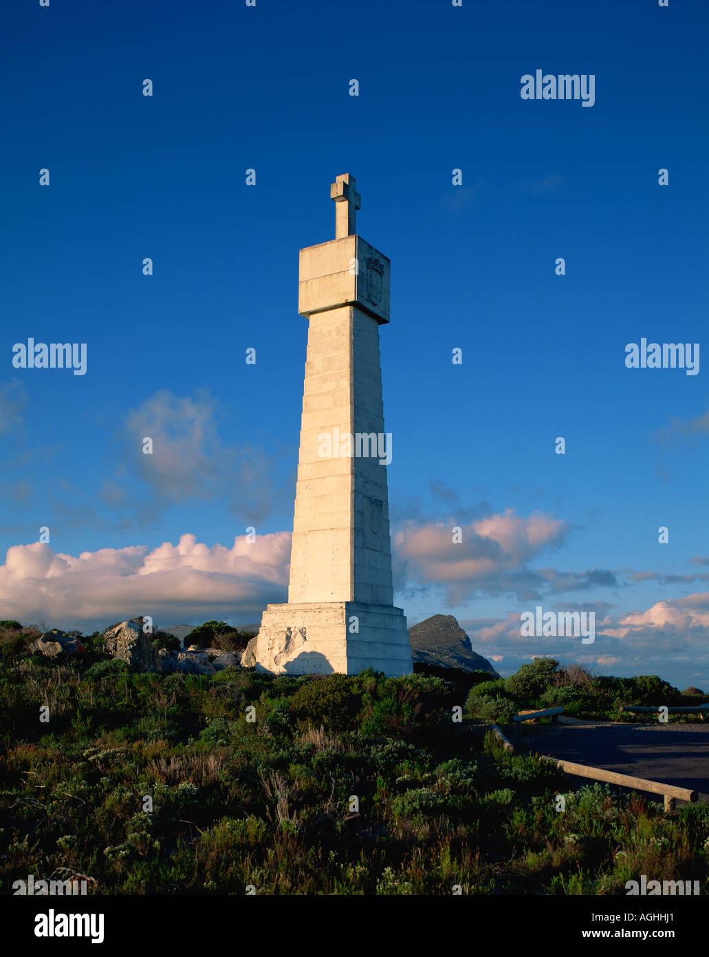 South Africa Cape Peninsula Bartholomieu Dias Monument - Stock Image