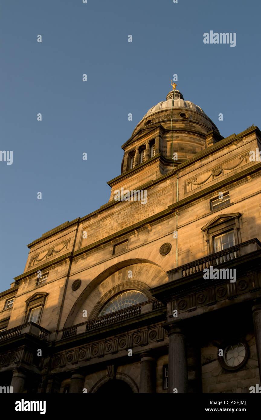 Academia Jacobi Sexti VI in Edinburgh. - Stock Image