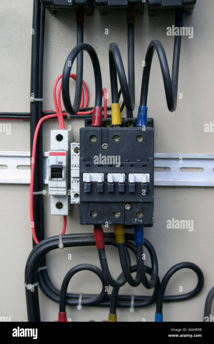 Circuit Breaker Stock Photos Images Alamy Fuse Box Main Close Up Of Fusebox And Image
