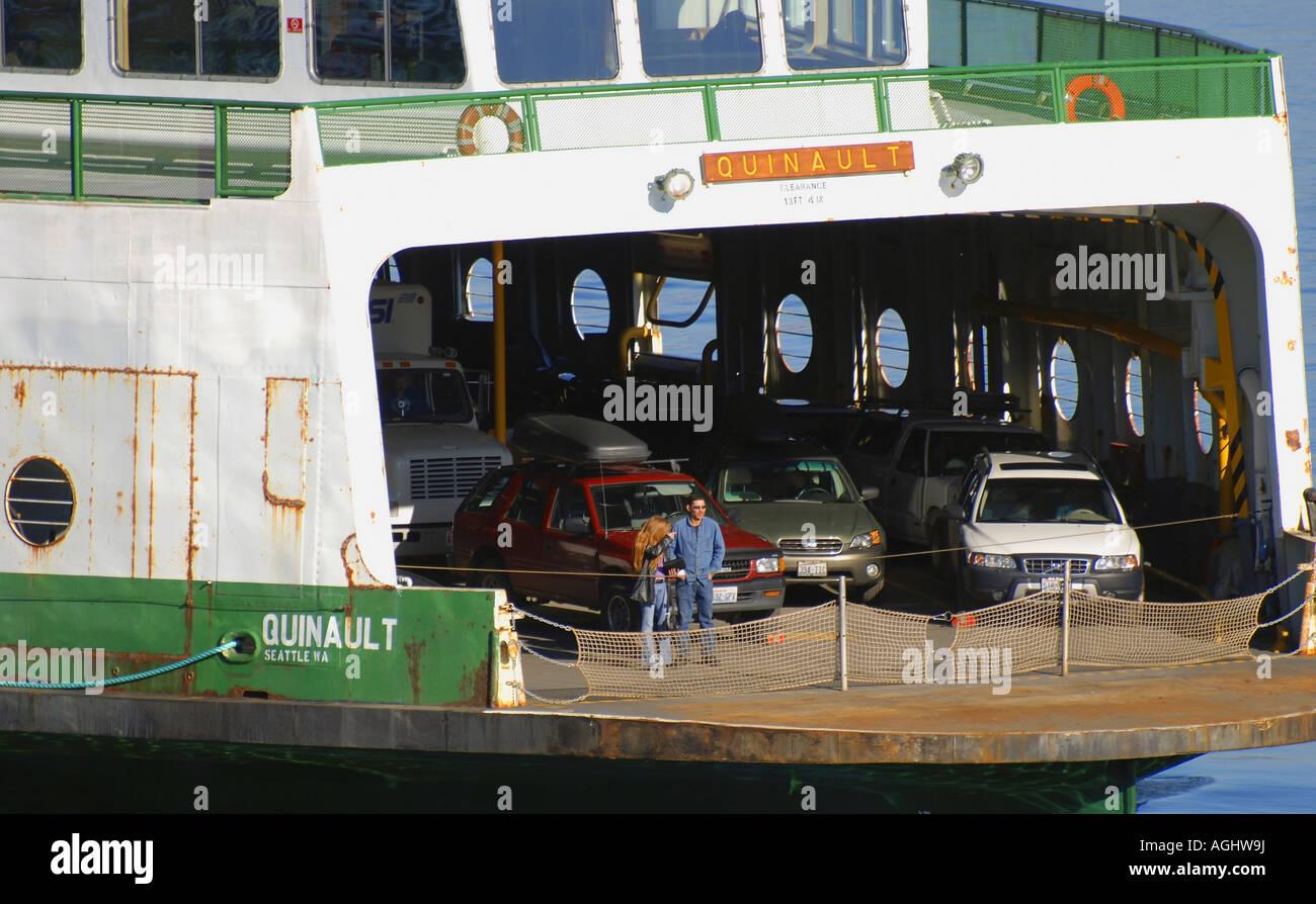 Painet jm7087 washington tacoma puget sound tahlequah ferry