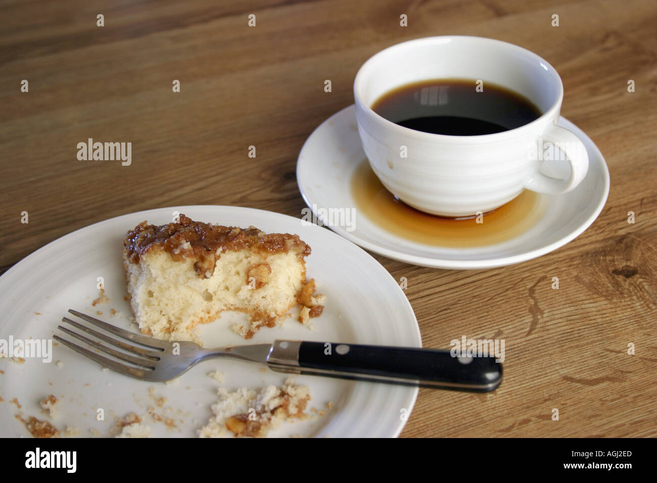 Morning Coffee With Cake