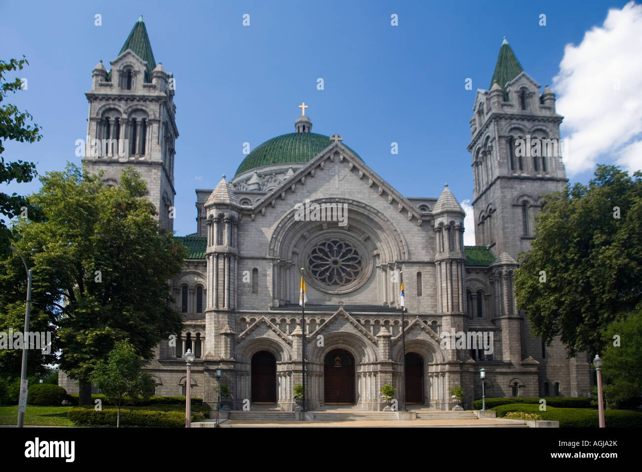 Cathedral Basilica of Saint Louis, Missouri - Stock Image