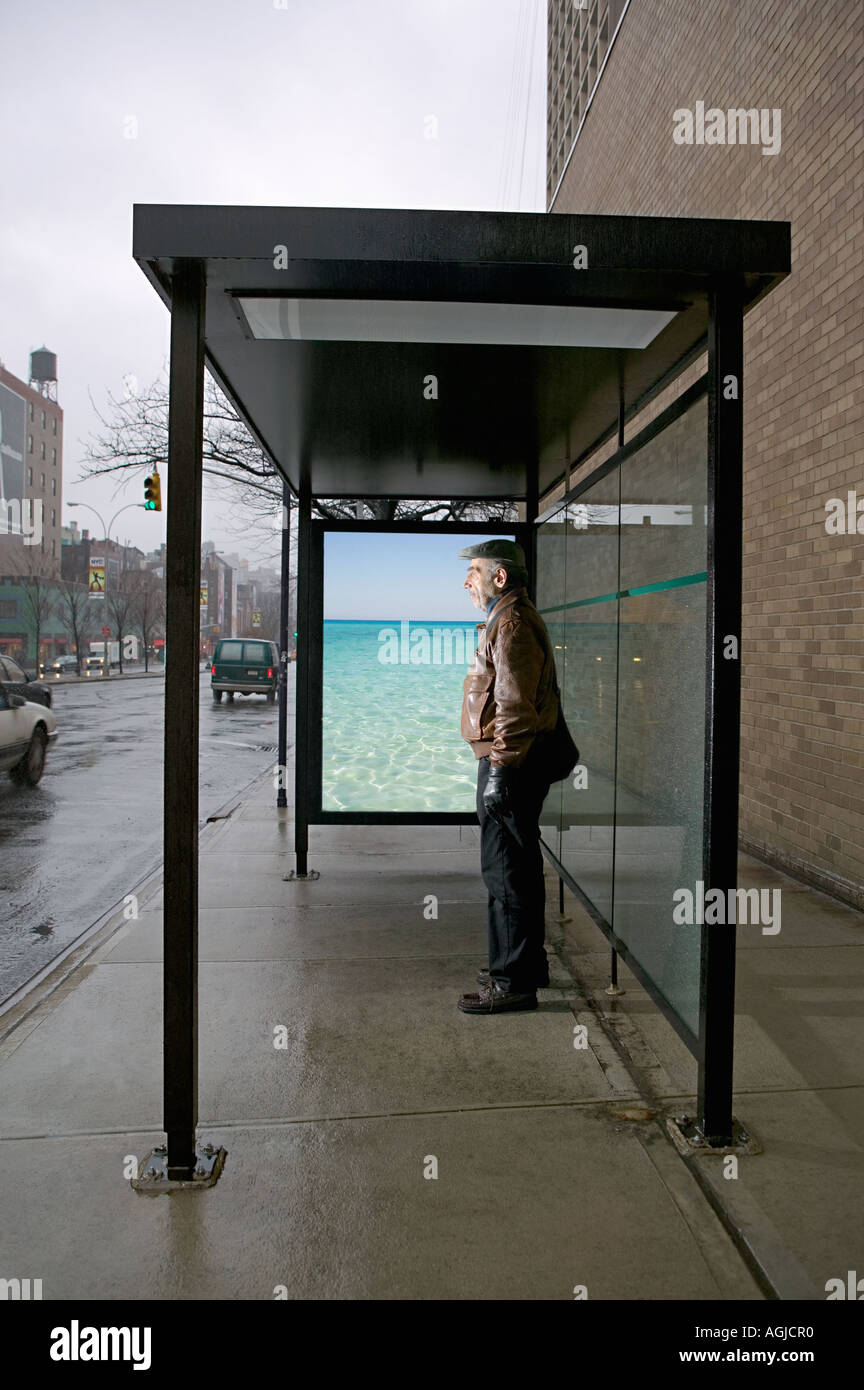 bus shelter poster stock photos bus shelter poster stock images