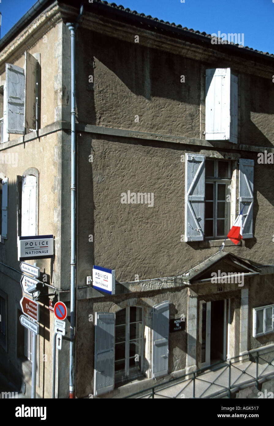 The Hotel de Police at Auch - Stock Image