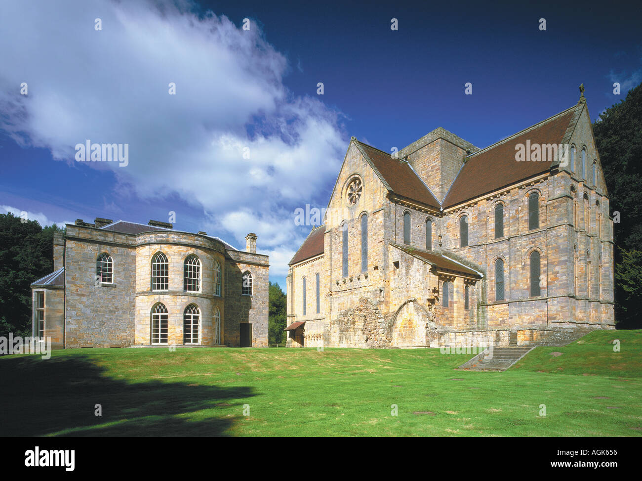 Brinkburn Priory Northumberland - Stock Image