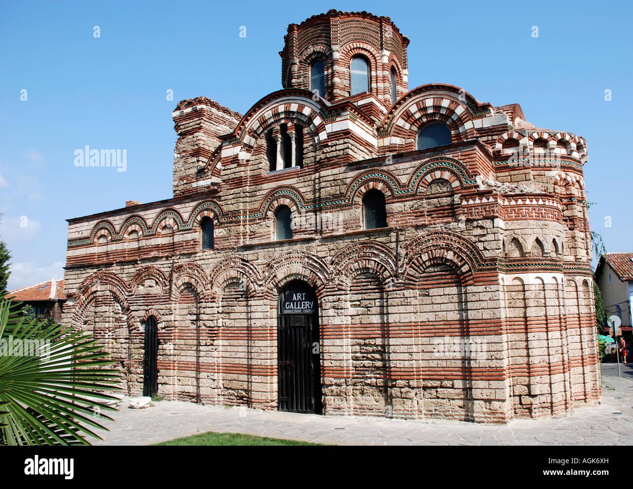 Church in Nessebar Bulgaria - Stock Image