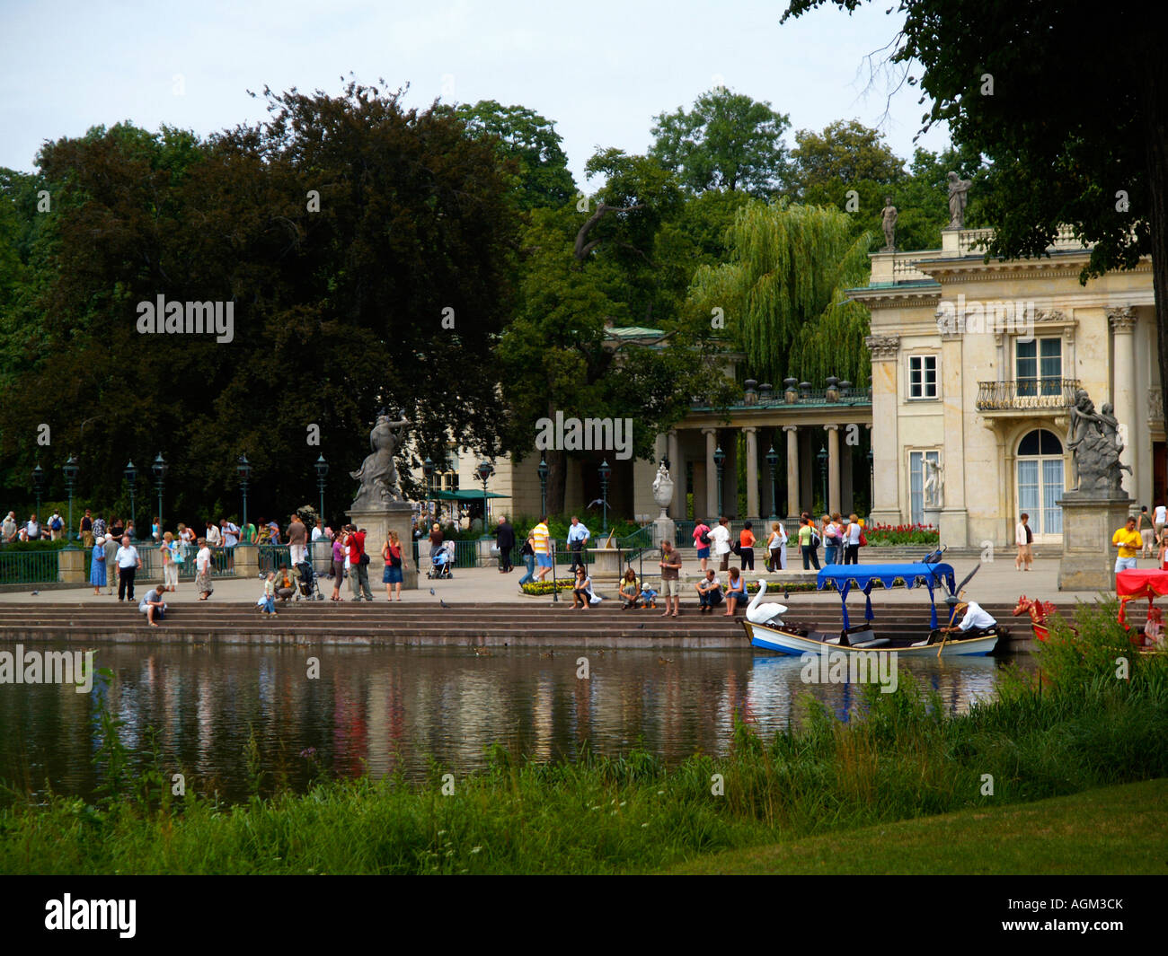 Gondolas On The Water At The Royal Palace On The Water At
