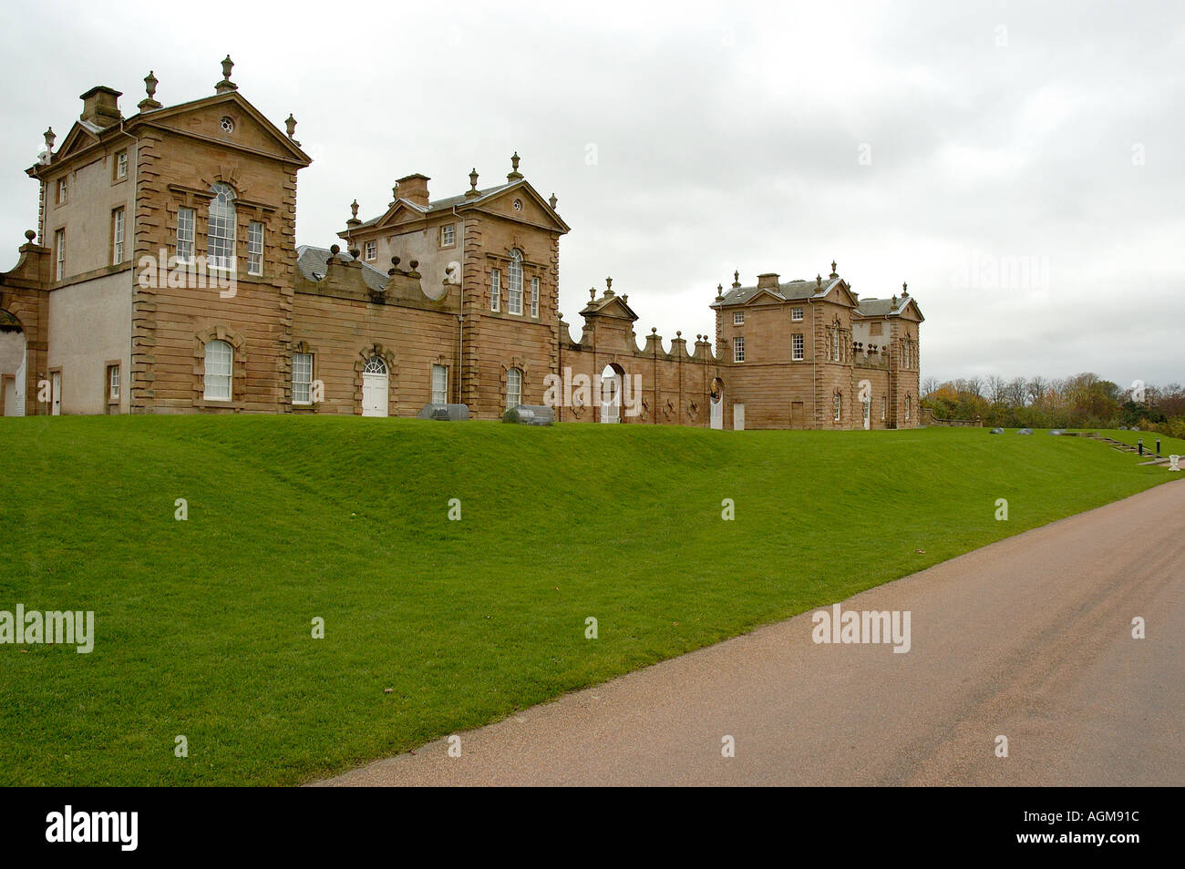 Chatelherault House Conference Visitor centre Chatelherault Country Park near Motherwell Lanarkshire Scotland - Stock Image