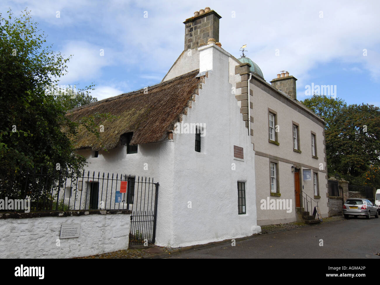 THE HUGH MILLER MUSEUM AND BIRTHPLACE IN  CROMARTY VILLAGE,SCOTLAND,UK. - Stock Image