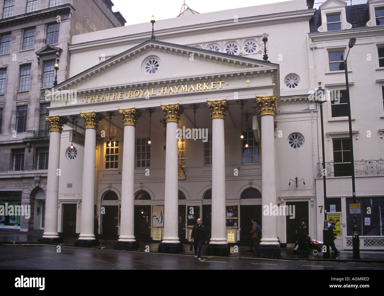 The Theatre Royal in London - Stock Image