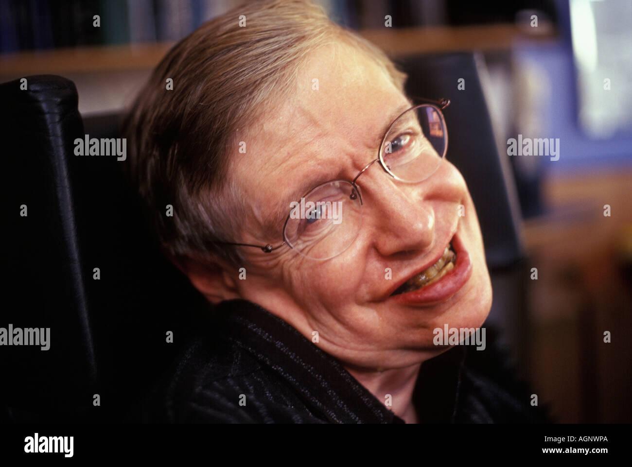 Professor Stephen Hawking - Stock Image