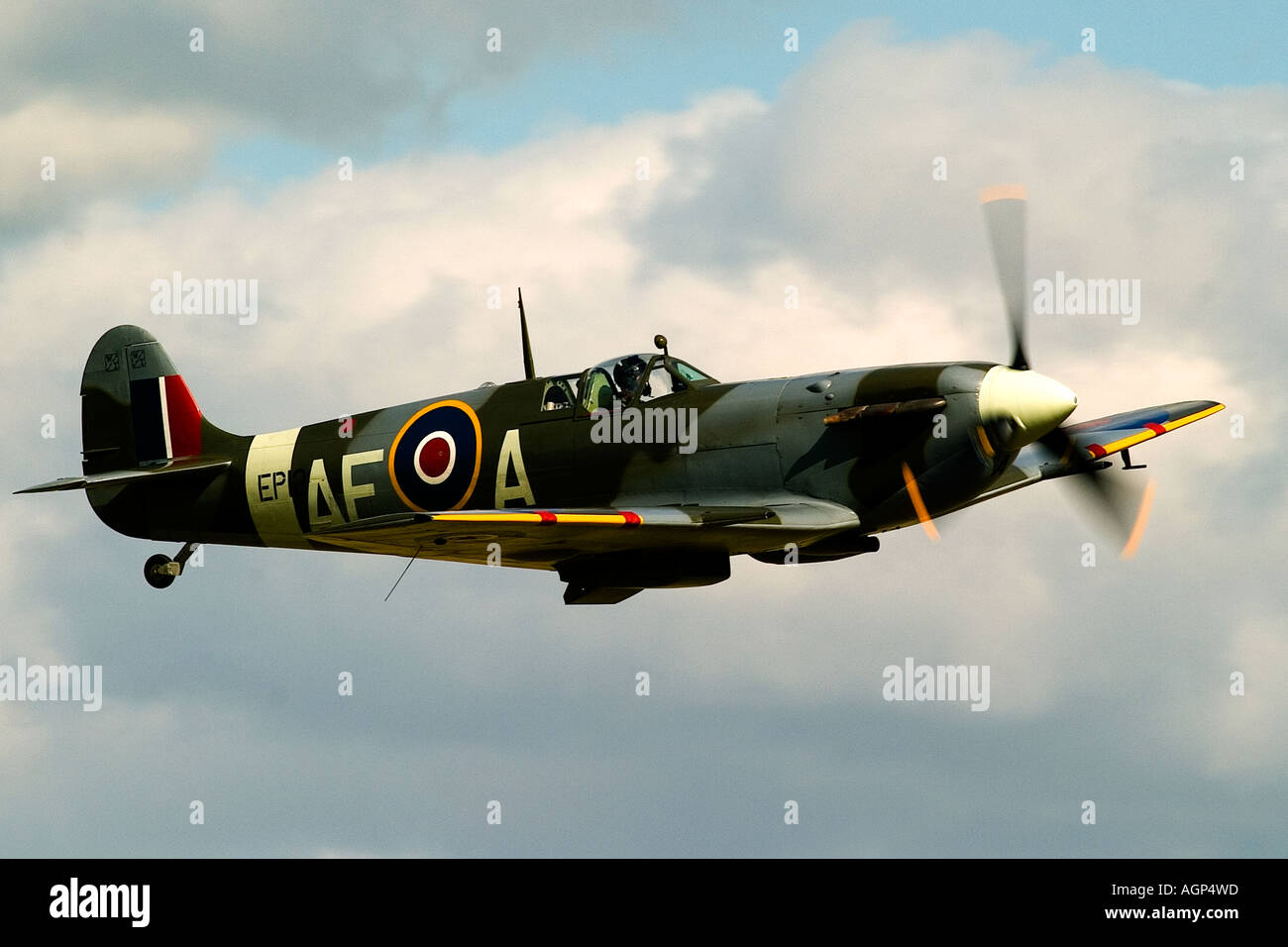 Supermarine Spitfire F VB EP120 - Stock Image