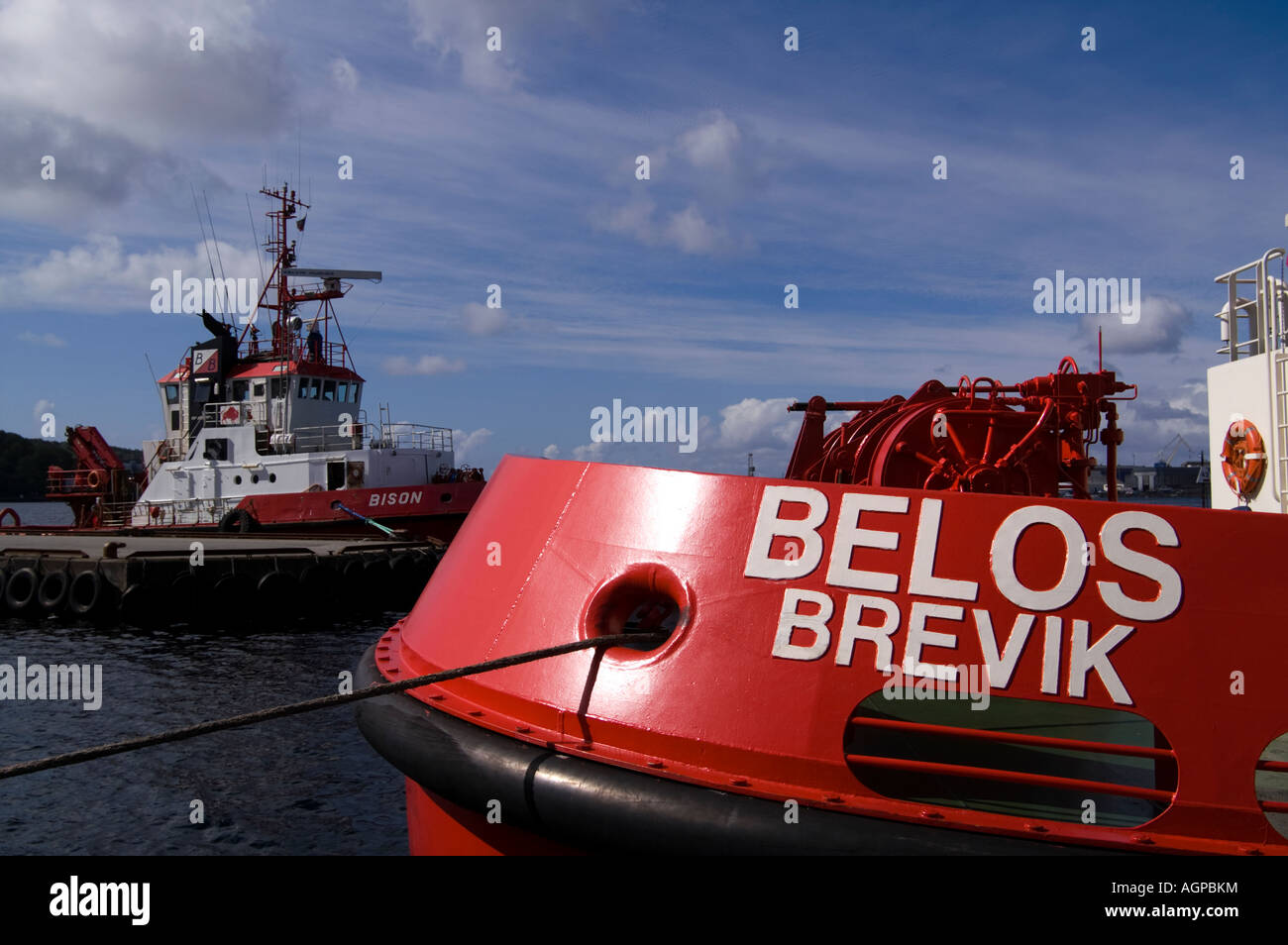 Belos Brevik Stock Photo