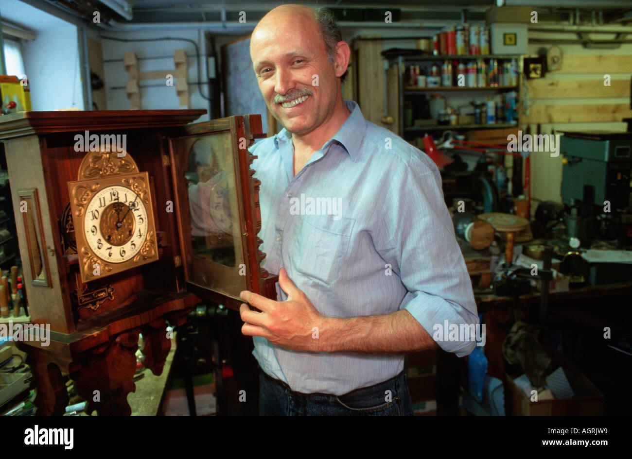 Watchmaker / Clockmaker - Stock Image
