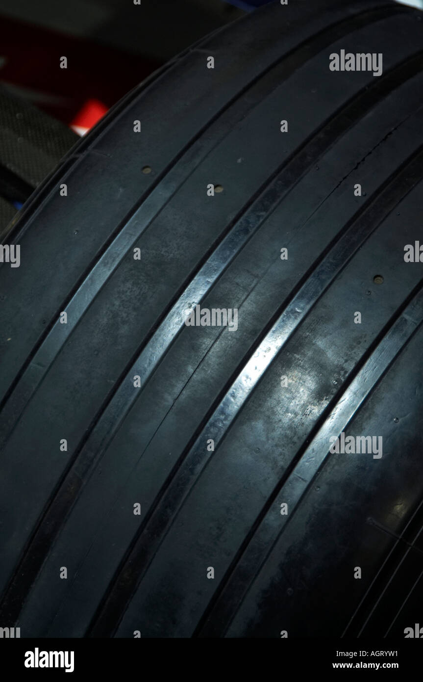 Grooved, formula, one, 1, f1, tyre, slick, rubber, wheel, grip Stock